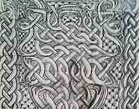 Celtic Book Cover Design