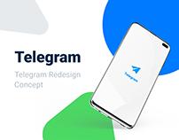 Telegram. Концепт редизайна приложения