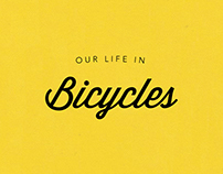 Our life in bicycles