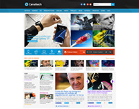 Redesign do site Canaltech