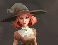 Little Witch Concept