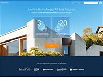 HomeAway Affiliate Program Re-design