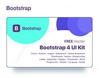 Bootstrap 4 GUI - Vector File