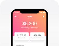 Fintech Mobile App - Visual Design