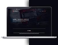 Transport & Spedition web site