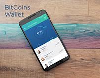 BitCoins Wallet App