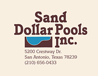 Sand Dollar Pools Digitized Logo