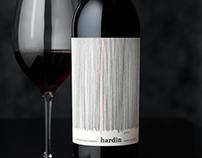 Hardin Wine Label & Packaging Design