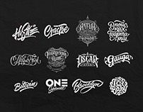 Lettering Logotypes Part 4
