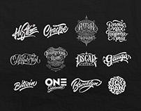 Lettering Logotypes Part 4