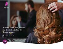 Beauty Salon App - UXD