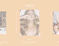 Fedra® Lingerie.- Branding