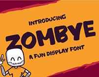 Zombye Fancy Font