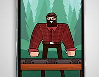 Lumber Jack Game