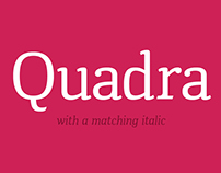 Quadra Typeface