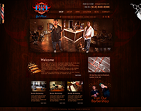 Barbershop Web Design
