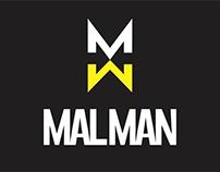 MALMAN ROCK - Identidad gráfica para banda de Rock