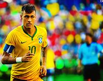 Neymar JR Edit & Retouch