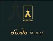 Elevate Studios logo and branding