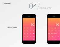 UI Daily Challenge / 04 - Calculator