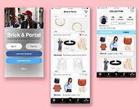 Brick & Portal Mobile App