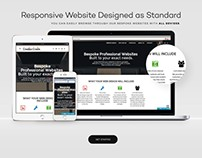 Laptop, Tablet & Mobile Website Showcase