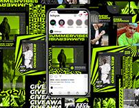 XNeON Instagram Posts & Stories Kit