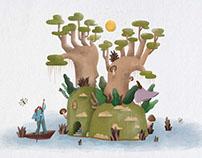 一木森環境設計事務所 - 插畫設計