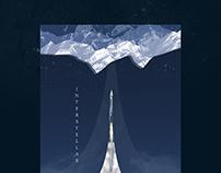 Affiche graphique - interstellar