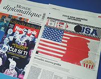 Illustrations For Le Monde Diplomatique Magazine