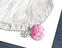 'Mairéad' - Wedding Dress Illustration