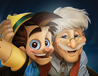 Fujifilm. Pinocchio.
