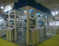 Exhibition Stand For Power Integration By Siddhi Art
