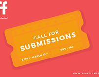 AAAFF Call for Submissions