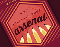 Art Supply Warehouse | Arsenal Campaign - Concept