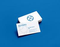 Design visit card for VISAM'S medical assistants