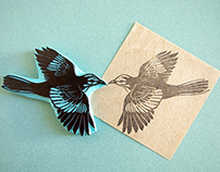 Rubber Stamps / BIRDS