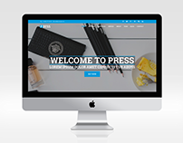 Press - Corporate HTML Template free download