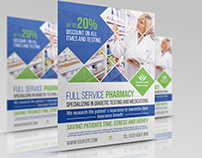 Pharmacy Flyer Template Vol.4