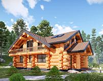 D1 Log House