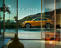 Audi Q8 Campaign 2018