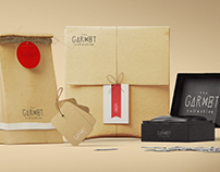 Logo & Brand Identity : The Garnet Collective