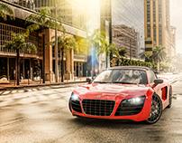 Audi R8 - CGI & Retouch