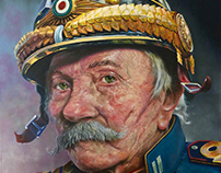 PORTRAIT OIL PAINTING ADMIRAL GIOVANNI
