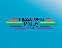 THESSAλONIKI PRID3   Poster Design
