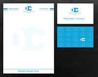 Dietzen Consult GmbH Letterhead & Business Card Design
