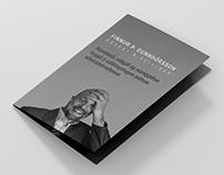 PRINT DESIGN - A5 bi folder brochure