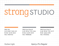 Strong Studio's new logo - 2015