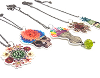 Illustrated Jewellery / Necklaces