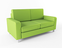 Green sofa (FREE)